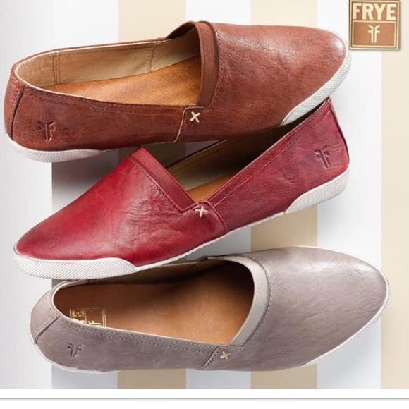 Frye Shoes   Melanie Slip On Shoe In